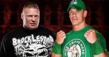 Qui de John Cena ou Brock Lesnar remportera ce combat ?