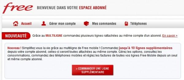 free mobile multiligne1 600x262 Le multiligne enfin disponible chez Free Mobile