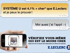 Auchan répond campagne Leclerc