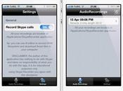 Call Recorder Skype, enregistrez conversations iPhone...