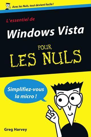 Windows Vista et Windows XP pour les nuls, débarquent sur iPhone