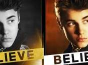 Justin bieber propose couvertures opus Believe.