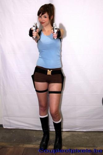 Lara Croft, Tomb Raider, cosplay, Made in Asia 2012
