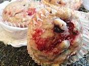 Muffins fraicheur fruits rouges ricotta
