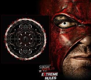 Kane sur l'affiche des WWE Extreme Rules 2012