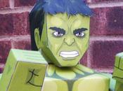 Hulk papertoy (Avengers 2012)