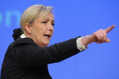Election 2012: Marine Le Pen votera blanc