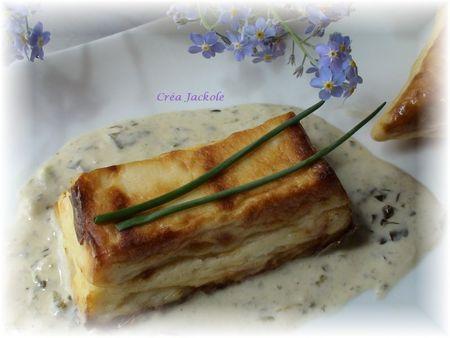 mousseline de st jacques au sel de truffle et sauce oseille1