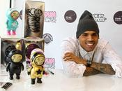 Chris Brown lance collection toys