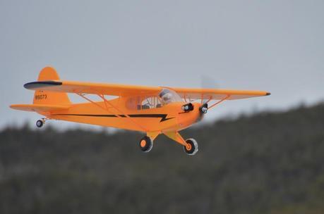 Lapin crétin fait de l'avion