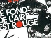 fond l'air rouge. Projection documentaire Chris Marker 2012.
