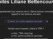 Convertisseur revenus unités Liliane Bettencourt