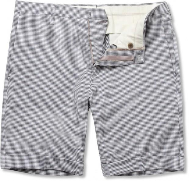 196555 Paul Smith gingham shorts 620x594 La capsule preppy de Paul Smith pour MR PORTER