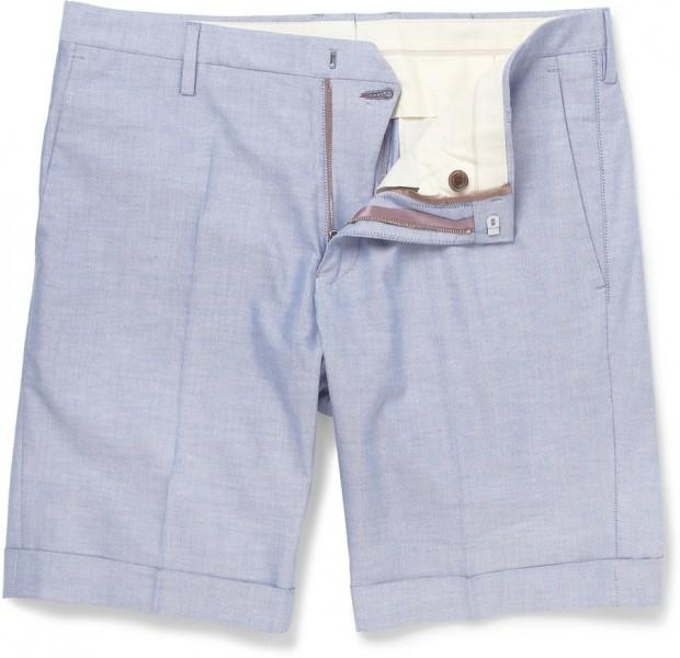196553 Paul Smith light blue shorts 620x600 La capsule preppy de Paul Smith pour MR PORTER