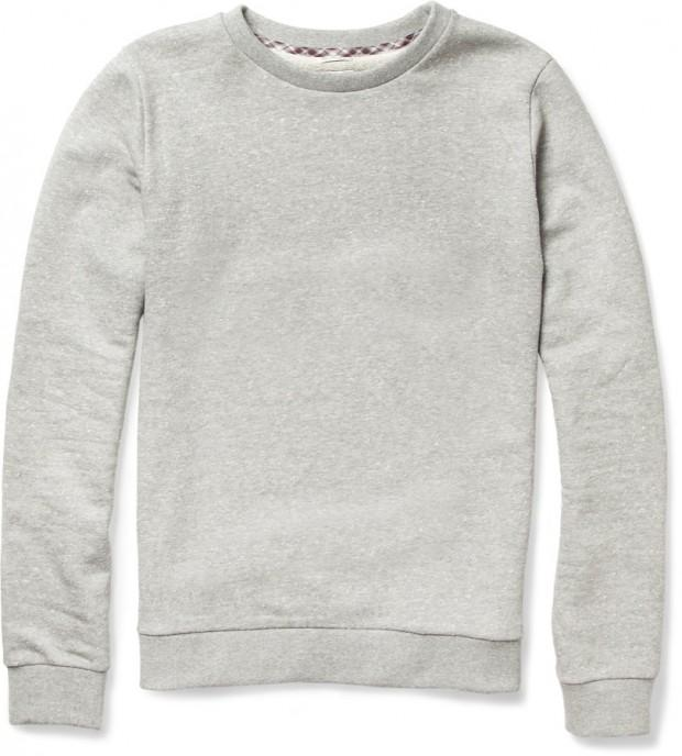 196558 Paul Smith grey sweater 620x688 La capsule preppy de Paul Smith pour MR PORTER