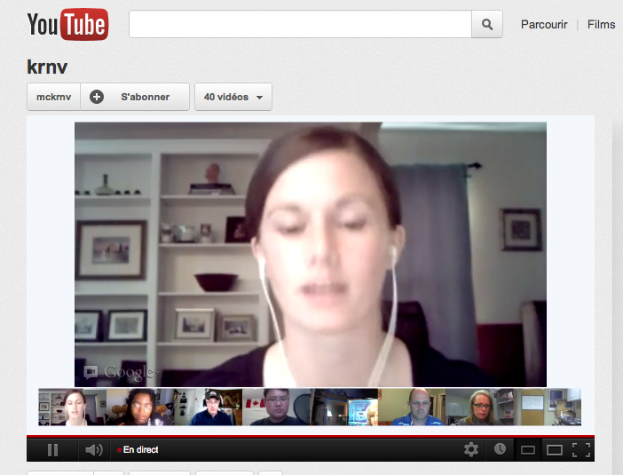 video bulle hangouts youtube Google+: diffusez vos vidéos bulles sur YouTube [Hangouts On Air]