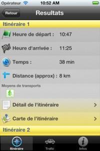 Appli iPhone #8 : Station Mobile, le GPS des Grenoblois