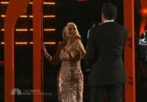 [Video] Christina Aguilera & Chris Mann  sur The  » Prayer » de Celine Dion.