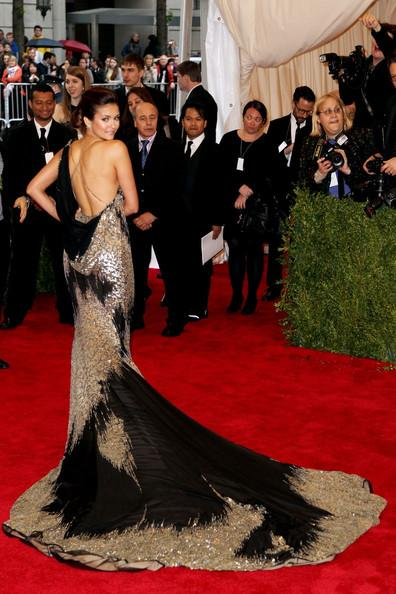 Nina Dobrev - Bruno Mars walks the red carpet at the Met Gala at the Metropolitan Museum of Art in NYC