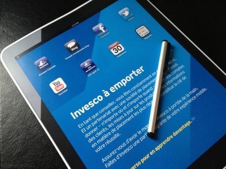 Invesco lance son app iPad et prend d'assaut les médias sociaux