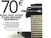 Vous voulez recevoir d'achat Nespresso euros