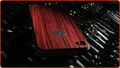 iPhone 4S: Trunket America Rosewood