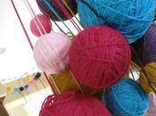 Boules papier, boules laine
