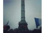 France rassemblée Bastille