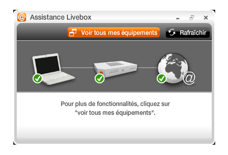 Assistance Livebox