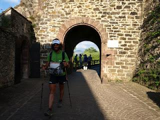 Terdav trail World Tour en images: en chemin vers ST Jean Pied de Port