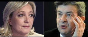 Mélenchon vs Le Pen