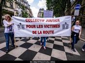 Marche silencieuse collectif Justice pour Victimes Route. 2012.