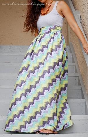 Easy DIY maxi dress by marcie