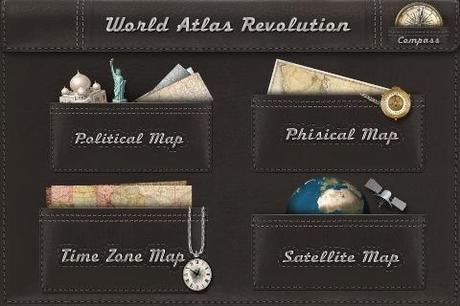 Le plus bel ''Atlas Mondial'', dans votre iPhone...