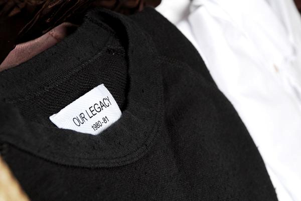 OUR LEGACY – S/S 2012 COLLECTION