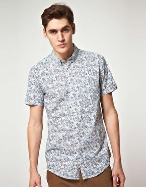 Chemise Liberty // Shirt Flowered