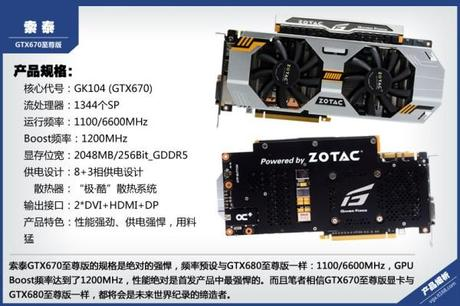 1234549 zotac gtx 670 extreme edition 02 600x400 Une GTX 670 Extreme chez Zotac
