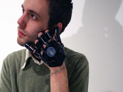 glove one glove phone 3d printing concept brian cera mobile phoneV F 336795 13 Un concept de gant téléphone