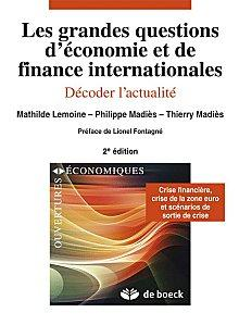 « Les grandes questions d'économie et finance internation