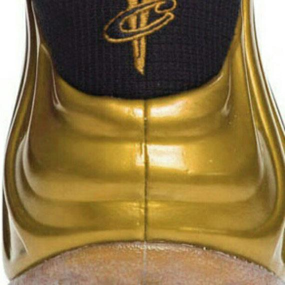 Nike Air Foamposite One Gold Medal Teaser