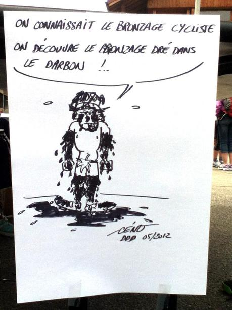 Dré dans l'Darbon : les dessins en direct