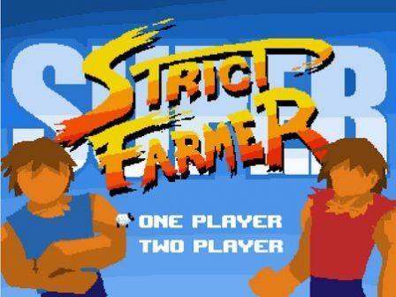 Super Strict Farmer - écran titre