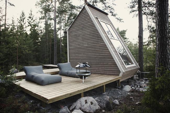une cabane au bord d'un lac… - paperblog