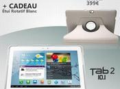 tablette Samsung Galaxy (10.1) disponible avec étui rotatif cadeau