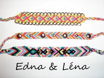 Diy Bracelets Brésiliens Déchaînés Paperblog
