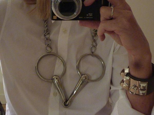 f57707533cb CAB et les bijoux en argent Hermès - Paperblog