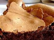 Gâteau choco toblerone noir