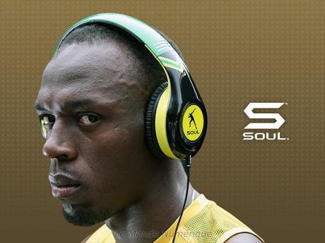 Usain Bolt ambassadeur de la marque Soul