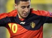 Belgique Wilmots satisfait d'Hazard