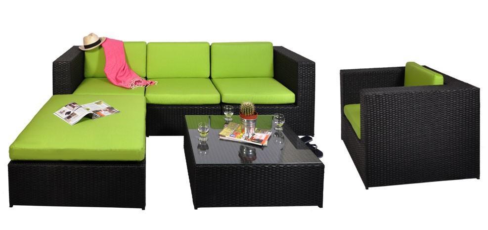 Awesome Deco Salon De Jardin Vert Anis Pictures - Matkin.info ...